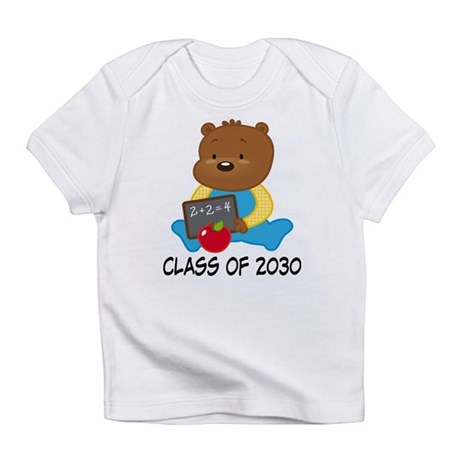 Cute Scholar Bear Class of 2030 Infant T-Shirt