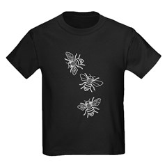 Honey Bees Kids Dark T-Shirt
