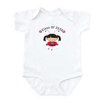 Future Class of 2030 Ladybug Girl Infant Bodysuit