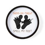 Smell My Feet Wall Clock