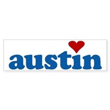 i love austin Bumper Bumper Sticker