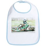 Unique Go cart racing Bib