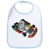Go cart racing Bib