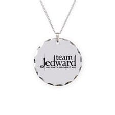 Team Jedward Necklace Circle Charm