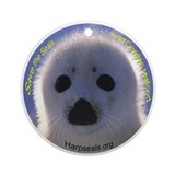 Save the seals! Ornament (Round)