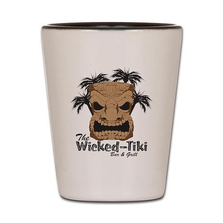 Wicked Tiki Bar + Grill Shot Glass