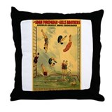 Circus Of The Sea Throw Pillow