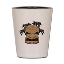 Wicked Tiki Carving Shot Glass