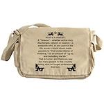 The Veteran Messenger Bag