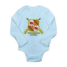 SD: Winchester Long Sleeve Infant Bodysuit