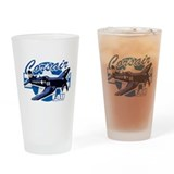 Corsair F4U Drinking Glass
