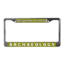 Archaeology License Plate Frame