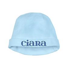 Ciara Blue Glass baby hat