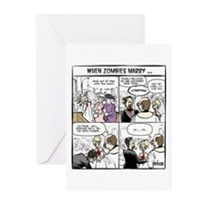 Zombie Wedding Greeting Cards (Pk of 20)