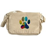 PAW PRINT Messenger Bag