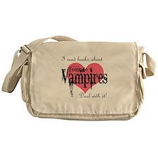 books about teenage Vampires Messenger Bag