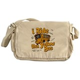 Yellow bus ridah Messenger Bag