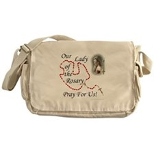 Our Lady of the Rosary Messenger Bag
