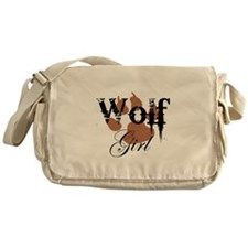 Wolf Girl Messenger Bag