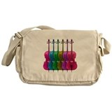 Colorful Cello Messenger Bag