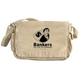 Bankers do it by withdrawal - Messenger Bag