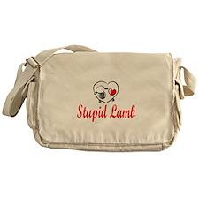 Stupid Lamb Messenger Bag