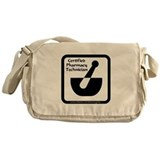 Certified Pharmacy Tech Messenger Bag