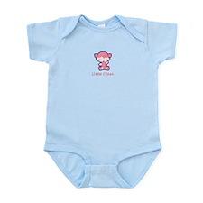 Lil Sis Sitting Infant Bodysuit