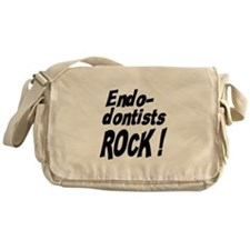 Endodontists Rock ! Messenger Bag