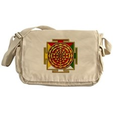 Sri Yantra Mandala Messenger Bag