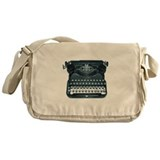 antique typewriter Messenger Bag