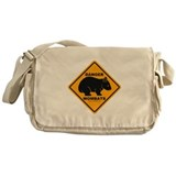 Wombat Danger Messenger Bag