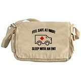 Cute Emergency medical technician Messenger Bag