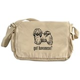 Cute Havanese Messenger Bag
