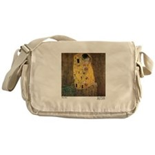 Funny Oil painting Messenger Bag