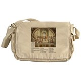 School of Athens Who is Who Messenger Bag