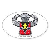 Cute Military crest Decal