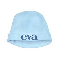 Eva Blue Glass baby hat
