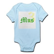 3 MUSketeers G Infant Bodysuit