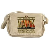 US Navy Destroyers Tin Can Sa Messenger Bag