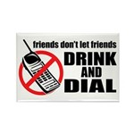 Drunk Dialing Rectangle Magnet (10 pack)