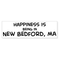Happiness is New Bedford Bumper Bumper Sticker
