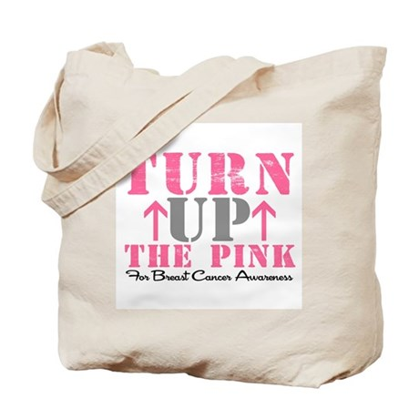 Turn Up The Pink (BC2) Tote Bag