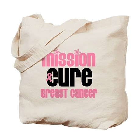 Breast Cancer Cure Tote Bag