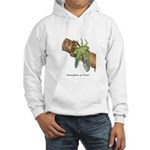 Metamorphosis of Cicadas Hooded Sweatshirt
