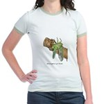 Metamorphosis of Cicadas Jr. Ringer T-Shirt