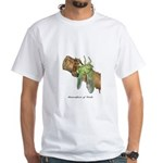 Metamorphosis of Cicadas White T-Shirt