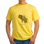 Metamorphosis of Cicadas Yellow T-Shirt