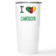 Cute Cameroon Travel Mug