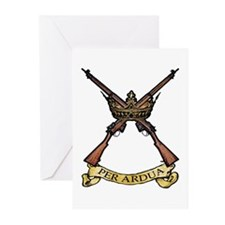 Per Ardua Greeting Cards (Pk of 20)